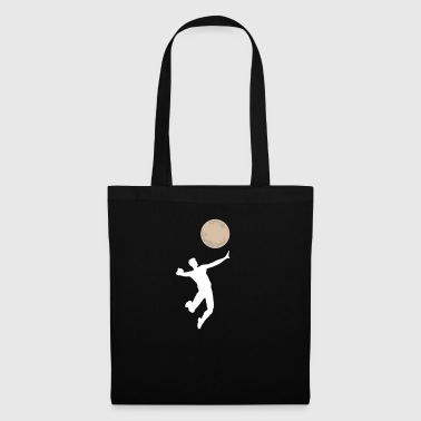 Volleyball game Funny moon serve gift idea - Tote Bag