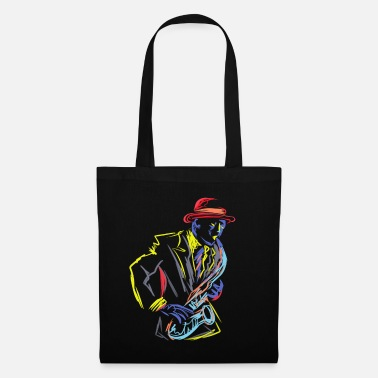 Fanfare Saxophone Saxophoniste Instrument Jazz Marching - Tote Bag
