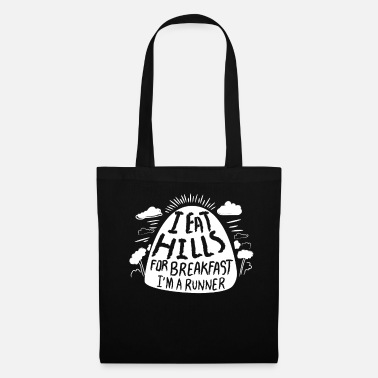 London I Eat Hills Before Breakfast Runner Gift Idea - Tote Bag