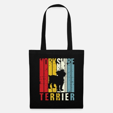 Quotes Retro Yorkie Yorkshire Terrier Owner Gift Idea 70s - Tote Bag