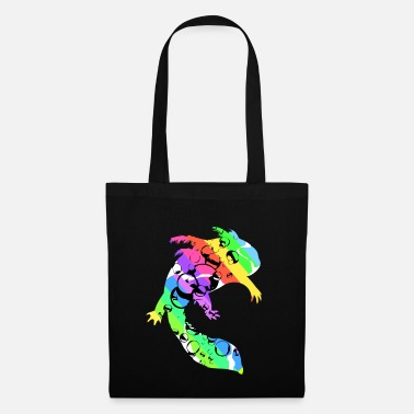 Forever Young Axolotl Reptile Salamander Aquarium Kawaii Lurch - Tote Bag