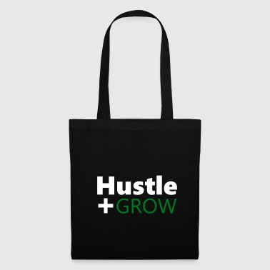 Hustle Hustler Success Work Money Money Grow - Bolsa de tela