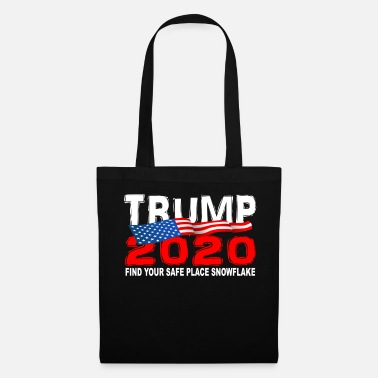 Political Rally TRUMP 2020 Find Your Safe Place Snowflake - Tote Bag