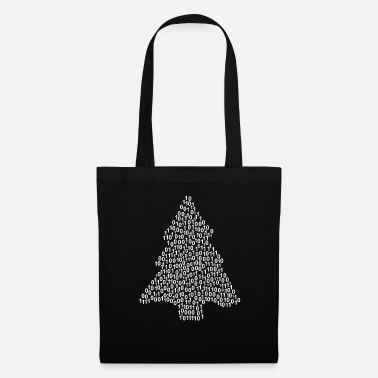 Hippie pine-tree-box_mdf.png nuage de mots - Tote Bag