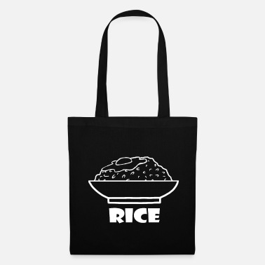 Soy Rice - rice - eat rice with egg - Tote Bag