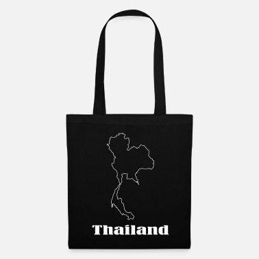 Carte Thaïlande carte carte - Tote Bag