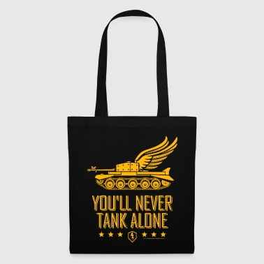 World Of Tanks World Of Tanks Blitz You'll Never Tank Alone - Tote Bag