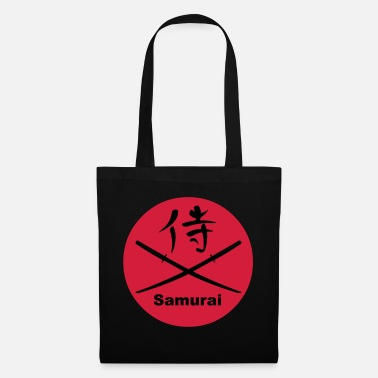 Katana Japanese Katana and Kanji for Samurai - Tote Bag
