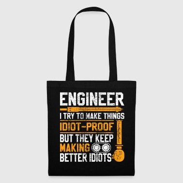 Lusteiges Tee Shirt Gift Engineers - Tote Bag