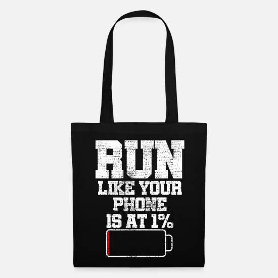 Sports Bags & Backpacks - To run - Tote Bag black
