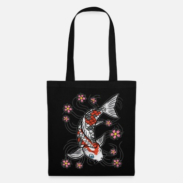Koi Koi fish carp pond - Tote Bag