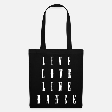 Linedance Line Square Country Dance - Tas van stof