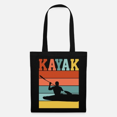 Rafting CONCEPTION KAYAK RÉTRO - Tote Bag