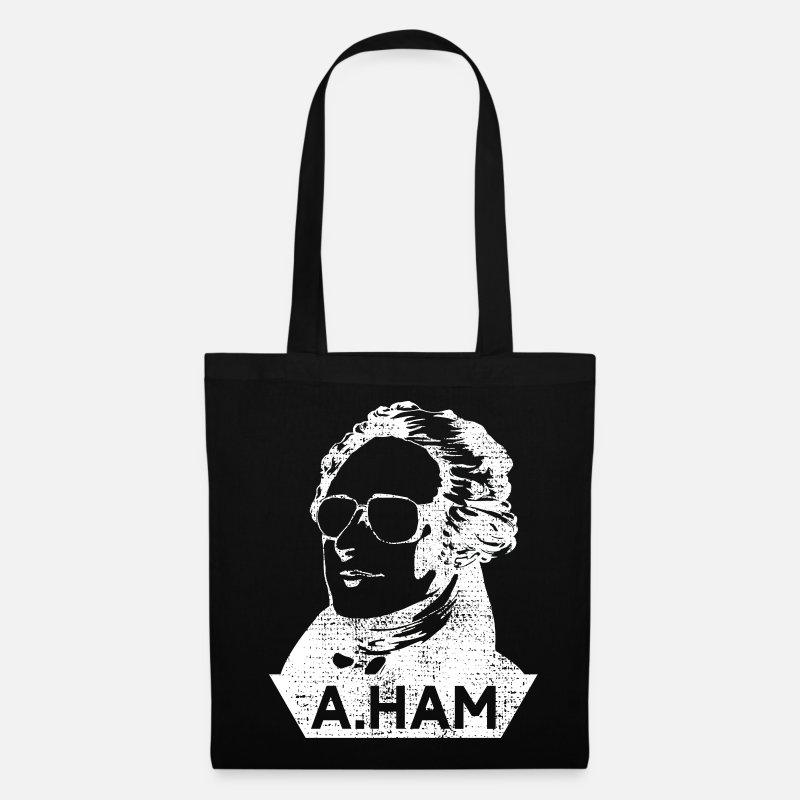 17f5228310ee Patriot Bags & Backpacks - Alexander Hamilton - Tote Bag black