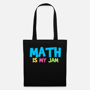 Wizard Math Math is my jam mathematician Math lover - Tote Bag