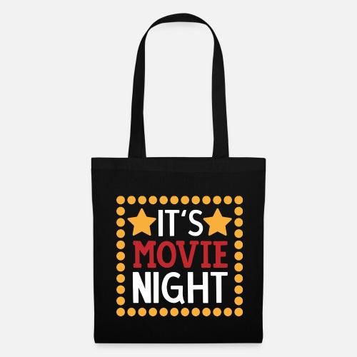 Its Movie Night Gift Stoffbeutel Spreadshirt
