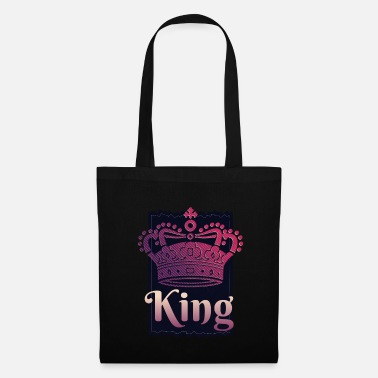 King Queen COOL KING et QUEEN CROWN - Tote Bag