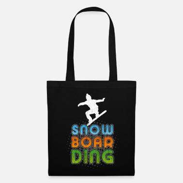 Snowboard Cool Snowboarder Freestyle Party Winter Gift - Tas van stof