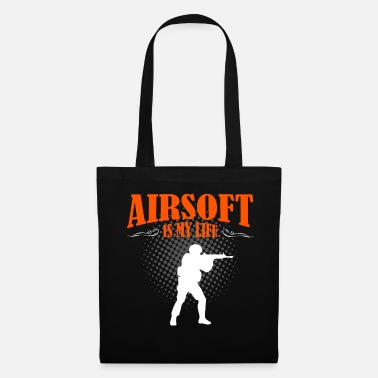 Paintball Airsoft est ma vie - Tote Bag