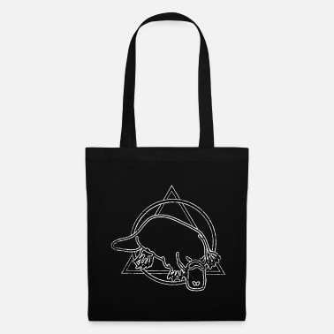 Animal Lover Platypus duck amphibious - Tote Bag