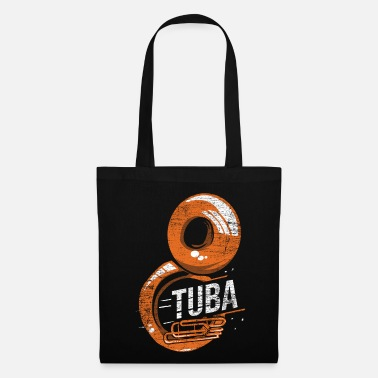 Horns Tuba instrument orchestra - Tote Bag