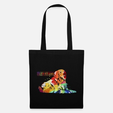 Golden Retriever Cucciolo di Golden Retriever - Borsa di stoffa
