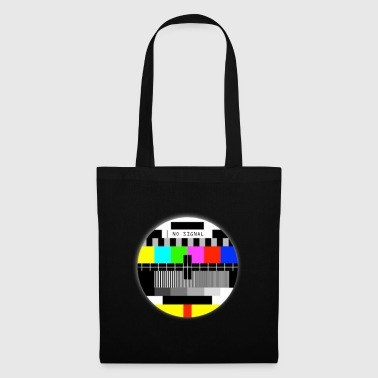 NO signal ancienne TV T-shirts no signal old TV - Tote Bag