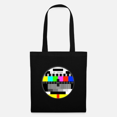 Grandpère NO signal ancienne TV T-shirts no signal old TV - Tote Bag