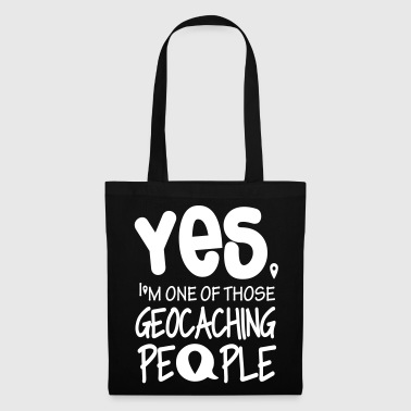 Yes. I'm one of those geocaching people - Tas van stof