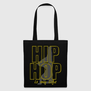Hop hip hop is my life - Tygväska