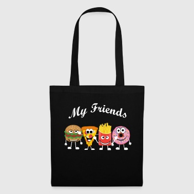 My fast food friends - Tote Bag