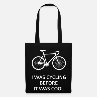 Was I Was Cycling Before It Was Cool - Tote Bag