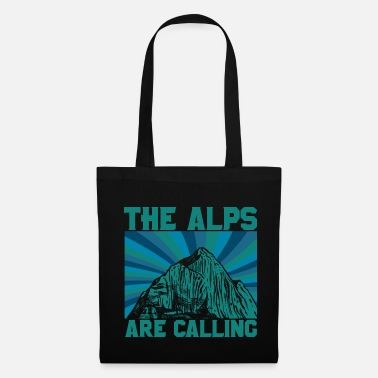 Vintage Alps mountains - Tote Bag