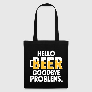 Hello Beer Goodbye problems - Stoffbeutel