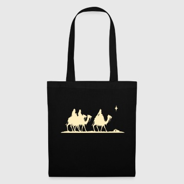 Three Kings Nativity Scene - Tote Bag