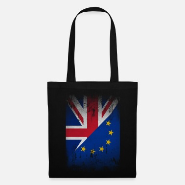 Eu Europe United Kingdom flag gift cohesion - Tote Bag