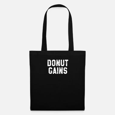Diet Donut Gains - Funny Bodybuilding Powerlifting - Tote Bag