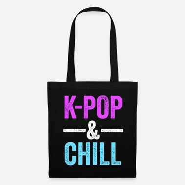 Pop Culture KPop & Chill KPop TShirt for Korean Culture Music - Tote Bag