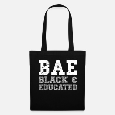 Magic BAE Black And Educated TShirt History Month - Tote Bag