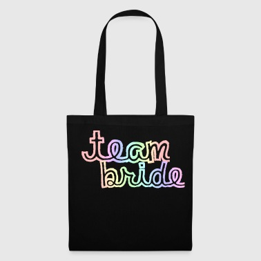 Team Bride Rainbow - Stoffbeutel
