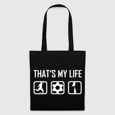 This is my life - Football Ballsport Stadium - Tote Bag