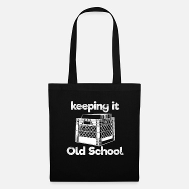 Simple Garder la vieille école - Tote Bag