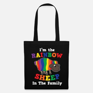 Open LGBT Pride Queer Lesbian Gay Bisexual Gay Tra - Tote Bag