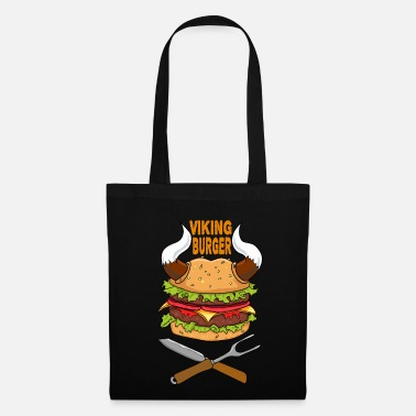 Hamburger Viking Burger Nourriture Nourriture Pizza Restauration rapide Brainfood - Tote Bag
