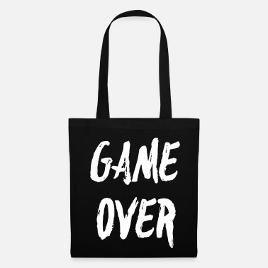 Game Over GAME OVER - Bolsa de tela