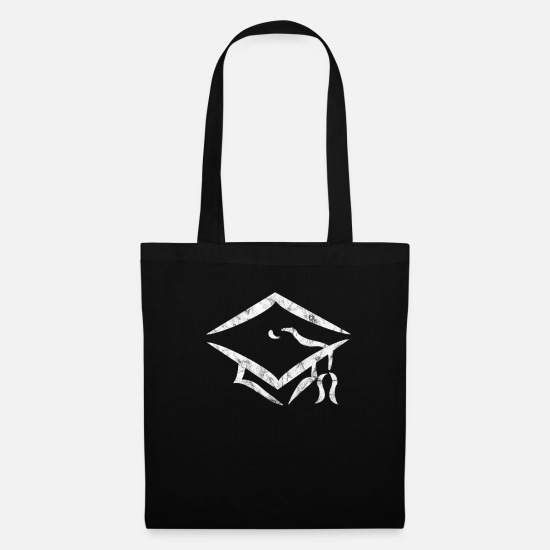 Professor Bags & Backpacks - Graduation degree - Tote Bag black