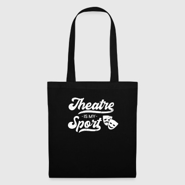 Theater Is My Sport Funny Broadway Lover Theater - Tote Bag