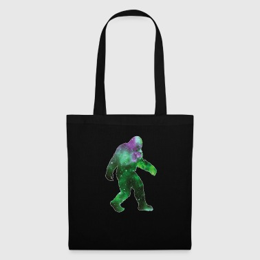 Bigfoot Silhouette Galaxy Sasquatch Believer Regalo - Bolsa de tela