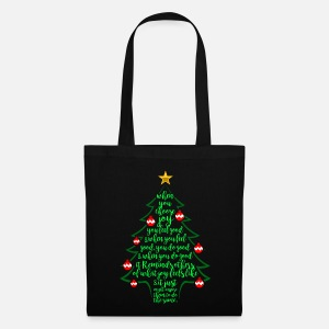 Christmas tree poem - Christmas family Duffle Bag   Spreadshirt 2b3f55b08e