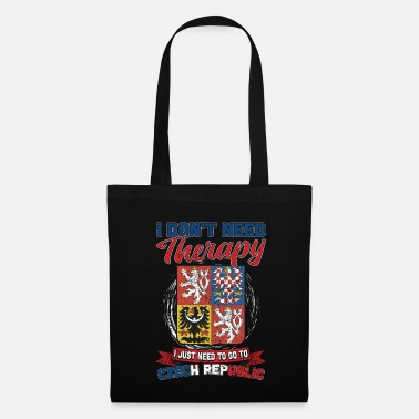 Czech No therapy - only the Czech Republic - Tote Bag